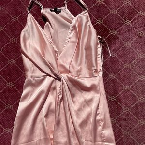 Silk Fashion Nova Dress